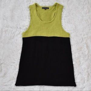 For Love & Lemons Knit Tank Sweater Mini Dress